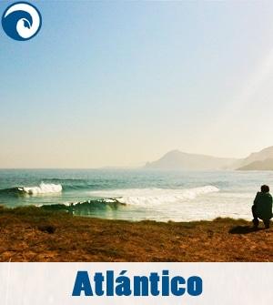 Previsión de olas para el Atlántico