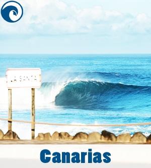 Previsión de olas para Canarias