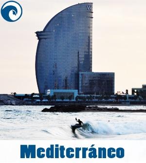 Previsión de olas para el Mediterráneo