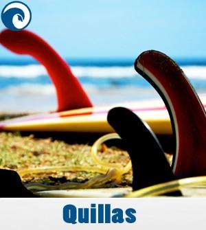 Quillas - Aletas para tablas de surf