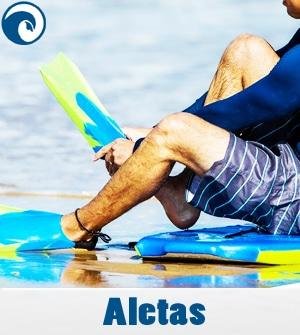 Aletas bodyboard