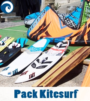 Packs de Kitesurf - Tabla, Cometa y Barrra