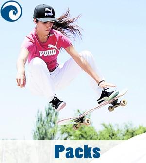 Skates completos Tablas, ejes, ruedas