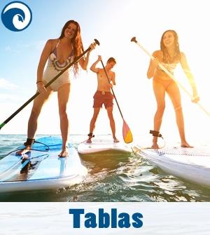 Tablas de Padle Surf SUP