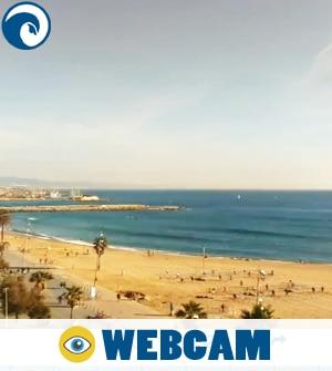 Webcam Sant Sebastia Barcelona